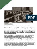 Pacea de la Paris 1918