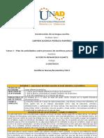 Tarea 4 -Formato para la planeación de actividades