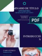 Seminario de Optometría