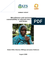 Microfinance in East Africa WWF Care LTS