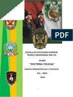 SILABO DESARROLLADO DE DOCTRINA POLICIAL