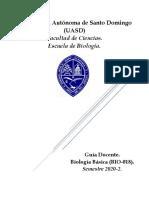 Guía docente biología básica (L)