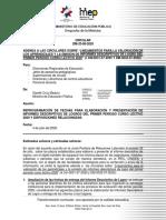 CIRCULAR DM-0033-08-2020
