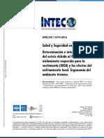 INTE ISO 11079  2016_Estrés debido al frío