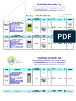 [Ex- works]-PlanetsWater Full AWG Wholesale Factory Price List 2011[PWG]