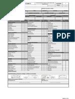 Formato Inventario del  Vehiculo Excel 2020