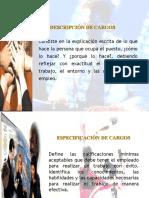 Tema No. 3. Descripción y Especificación de Cargos.ppt