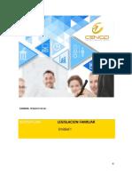 Cuaderno 1-Unidad 1-Legislacion Familiar