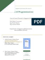 1-IntroduzioneERappresentazioneInformazione