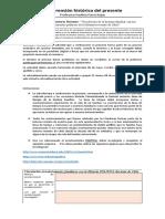 """""""Vinculación de la historia familiar con los acontecimientos políticos de la Historia reciente de Chile"""""""