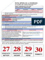 TRANSICION INGLES  21-25 SEPTIEMBRE