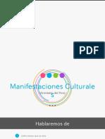 MANIFESTACIONES CULTURALES -VIRREINATO DEL PERU