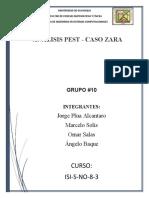 Análisis PEST de Zara