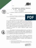 RESOLUCION GERENCIAL GENERAL N 008-2019-GR-JUNIN GGR