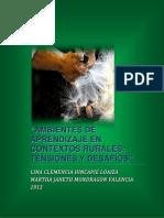 AMBIENTES DE APRENDIZAJE EN CONTEXTOS RURALES
