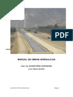 Manual de Obras Hidráulicas Ing Giovene Perez