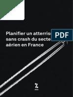 [Note] Planifier un atterrissage sans crash du secteur aérien en France