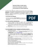 EditalTutorAracuaijulho2011matematica