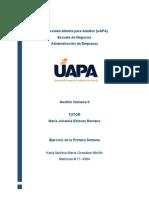 Tarea 1 - Gestion Humana II-Karla Gonzalez 17-4904.docx