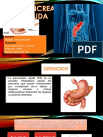 Dx y Tx de pancreatitis