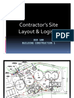 Topic6 Site Layout & Logistic
