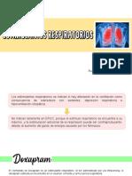 Estimulantes Respiratorios