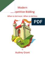 Modern Competitive Bidding Handout(格兰特 Audrey Grant)