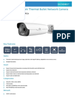 UNV TIC2531TER5-F10-4F6APCA 4MP Dual-spectrum Thermal Bullet Network Camera datasheet V1.2 (1)
