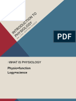 introduction to physiology2