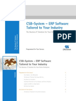 CSB-System ERP Brochure
