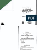Anteproyecto Código Penal 2006