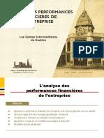 2. L'ANALYSE DES PERFORMANCES FINANCIERES DE L'ENTREPRISE
