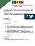 BASES JUEGOS DE ANTAÑO 2020