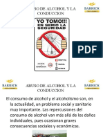 ABUSO DE ALCOHOL Y LA CONDUCCION