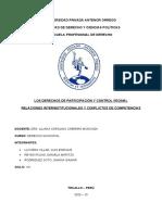 LOS DERECHOS DE PARTICIPACIÓN Y CONTROL VECINAL
