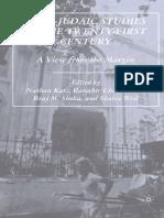 Indo-Judaic Studies in the Twenty-First Century_ A View from the Margin - Nathan Katz, Ranabir Chakravarti, Braj M. Sinha, Shalva Weil