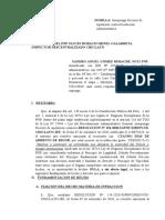 APELACION DE SANCION DE RIGOR POR INFRACCION A LA LEY 30714 LEY REGIMEN DISCIPLINARIO DE LA PNP