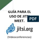 Manual básico de Jitsi Meet