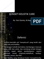 KONSEP HOLISTIK CARE