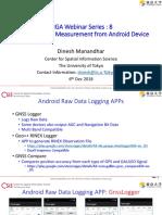 Apsp Android Para Registrar Datos Brutos de GNSS