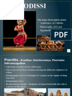 CLASSICAL DANCE FORMS OF INDIA – ODISSI