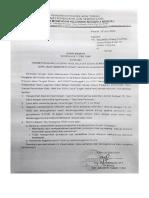 Surat Edaran Kenaikan Kelas TP 2019-2020