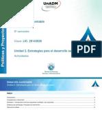 PDS_Unidad 3. Estrategias para el desarrollo sustentable_Actividades