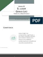 U2 - T3 - Diagnóstico - Análisis de sitio - Teoría de la Arquitectura 3