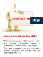 LEARNING STYLES(1)