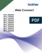 Guía de Web Connect Impresora Brother