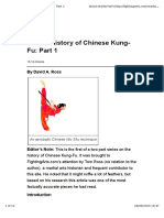 A Brief History of Chinese Kung-Fu_ Part 1