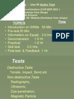 hydro test.ppt