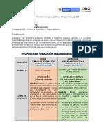 PROPUESTA DE FORMACIÓN SEMANA INSTITUCIONAL - OCTUBRE