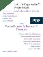 Proceso De Venta De Productos Y Promoción (1)
